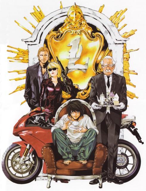 Takeshi Obata, Death Note, Blanc et Noir, Merrie Kenwood, L