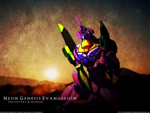 Yoshiyuki Sadamoto, Neon Genesis Evangelion, Unit-01 Wallpaper