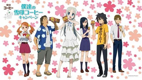 A-1 Pictures, AnoHana, Atsumu Matsuyuki, Meiko Honma, Tetsudou Hisakawa