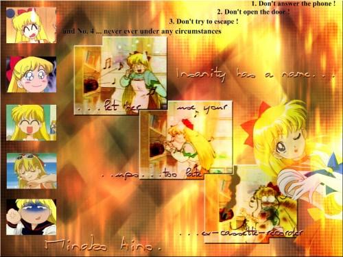 Toei Animation, Bishoujo Senshi Sailor Moon, Minako Aino, Sailor Venus Wallpaper