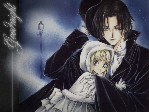 Kaori Yuki, Count Cain, Cain C. Hargreaves, Mary Weather Hargreaves Wallpaper