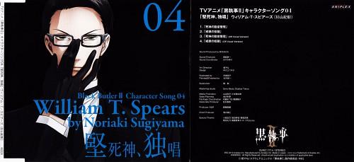 A-1 Pictures, Kuroshitsuji, William T. Spears, Album Cover