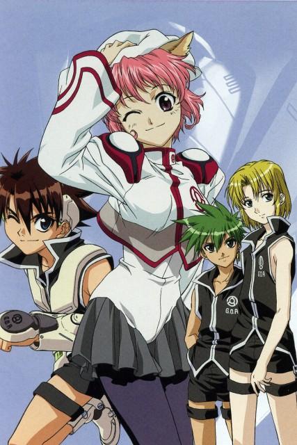 Yukiru Sugisaki, Xebec, Candidate for Goddess, Kizna Towryk, Zero Enna