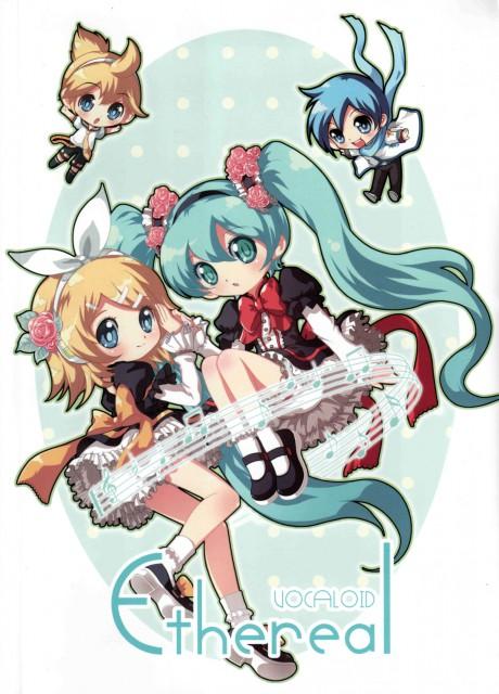 Vocaloid, Miku Hatsune, Rin Kagamine, Len Kagamine, Kaito
