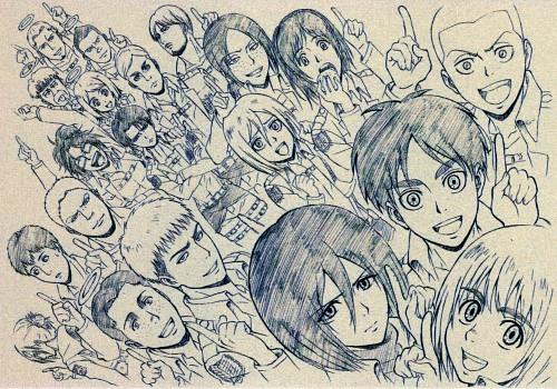 Production I.G, Shingeki no Kyojin, Eren Yeager, Krista Lenz, Erd Gin