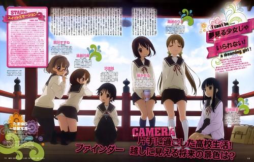 Hal Film Maker, Tamayura, Fuu Sawatari, Suzune Maekawa, Kaoru Hanawa