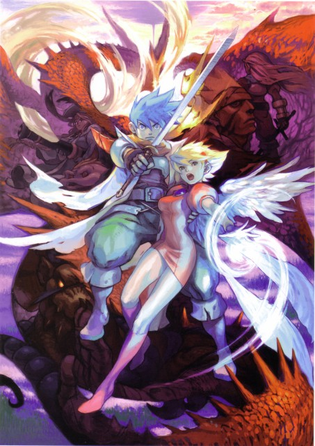 Breath of Fire - Official Complete Works, Breath of Fire, Rei (Breath of Fire), Peco (Breath of Fire), Nina (Breath of Fire)