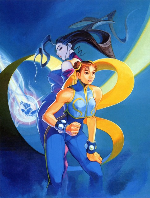 Capcom, Street Fighter, Rose (Street Fighter), Chun-Li