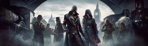 Ubisoft, Assassin's Creed Syndicate, Jacob Frye, Evie Frye, Official Wallpaper