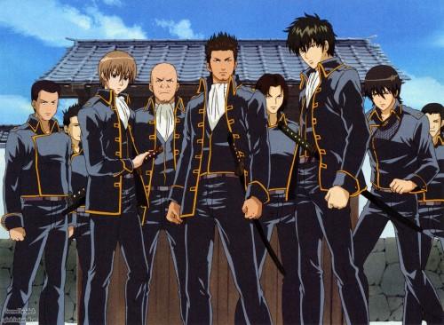 Sunrise (Studio), Gintama, Unosuke Harada, Toshiro Hijikata, Sagaru Yamazaki