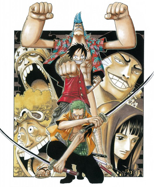 Eiichiro Oda, Toei Animation, One Piece, Color Walk 4 - Eagle, Nico Robin