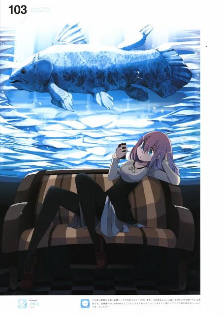 Tansuke, Lovely iPhone Illustrations