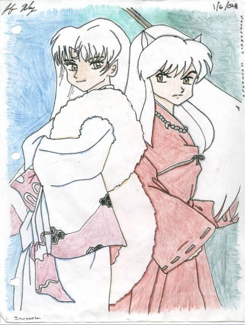 Rumiko Takahashi, Inuyasha, Inuyasha (Character), Sesshoumaru, Member Art