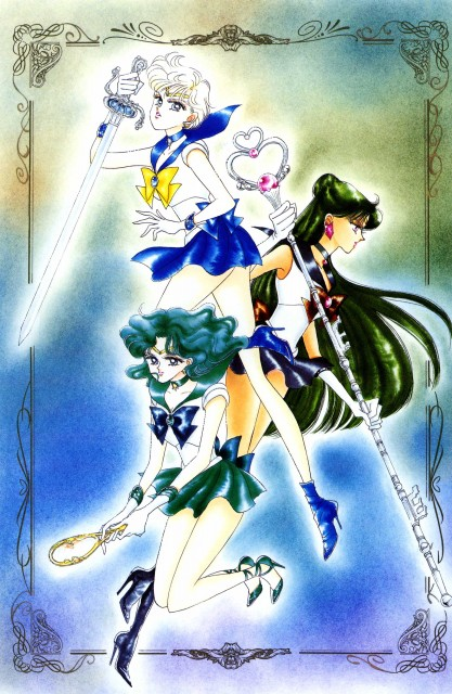 Naoko Takeuchi, Bishoujo Senshi Sailor Moon, BSSM Original Picture Collection Vol. III, Sailor Neptune, Sailor Pluto