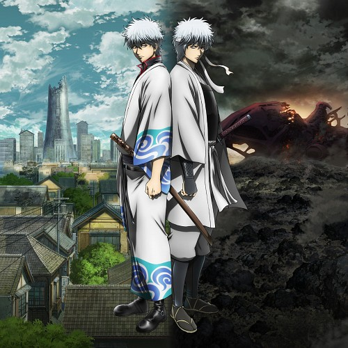 Hideaki Sorachi, Sunrise (Studio), Gintama, Gintoki Sakata, Official Digital Art