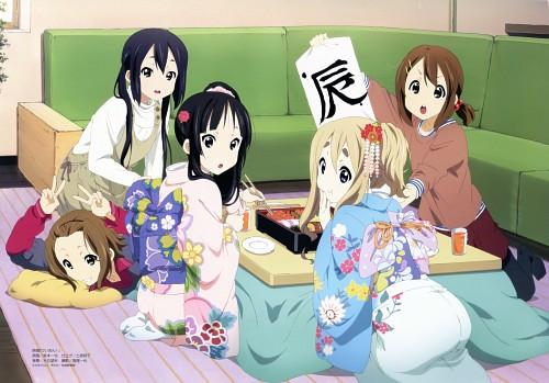Kazuya Sakamoto (Mangaka), Kyoto Animation, K-On!, Yui Hirasawa, Ritsu Tainaka