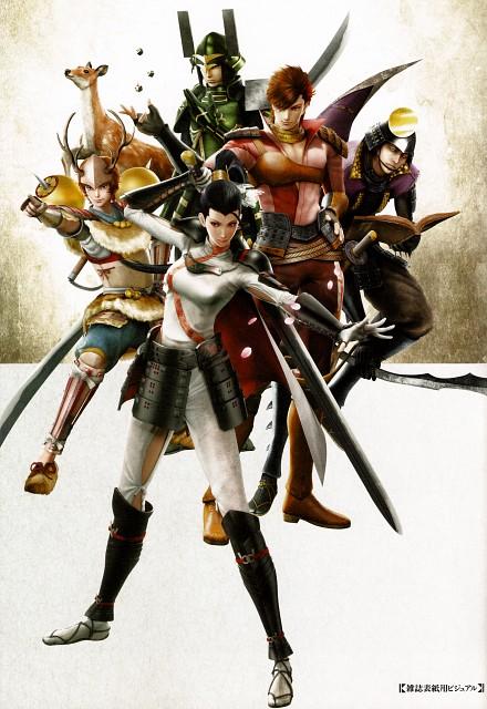 Capcom, Sengoku Basara 4 Official Complete Works, Sengoku Basara, Naotora Li, Matabei Gotou (Sengoku Basara)