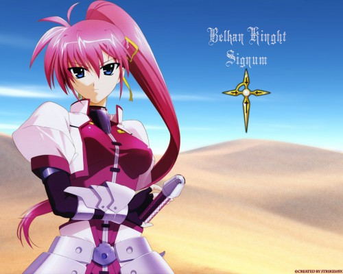 Seven Arcs, Mahou Shoujo Lyrical Nanoha StrikerS, Signum Wallpaper