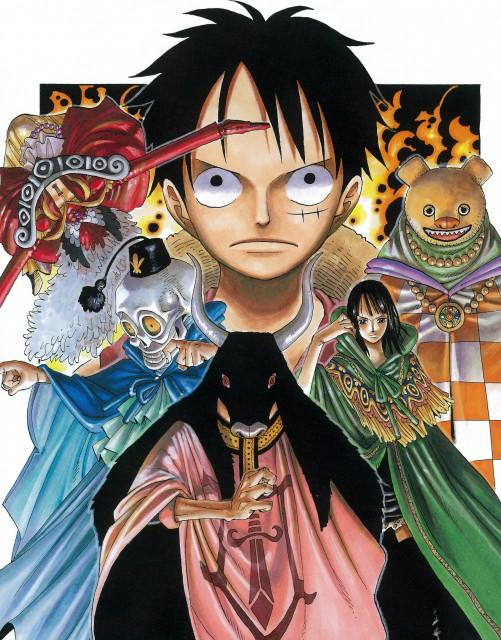Eiichiro Oda, Toei Animation, One Piece, Color Walk 4 - Eagle, Blueno