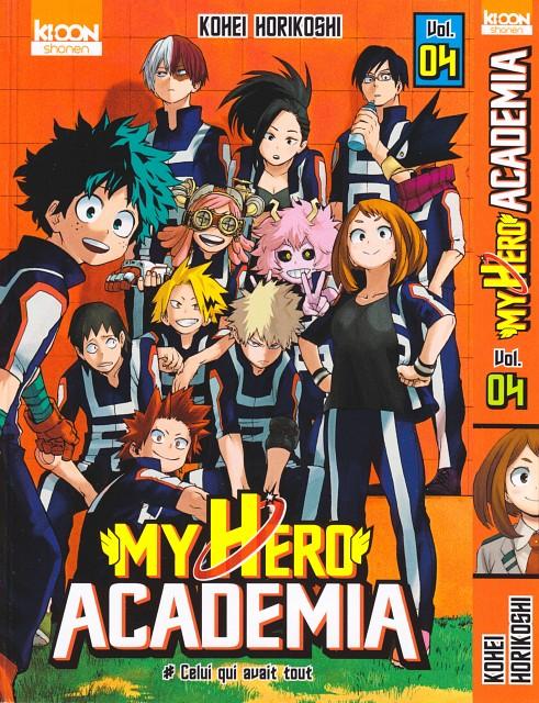 Kouhei Horikoshi, Boku no Hero Academia, Fumikage Tomoyami, Denki Kaminari, Tenya Lida