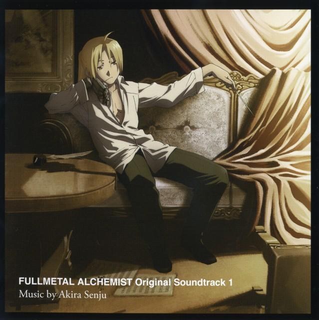 Hiromu Arakawa, BONES, Fullmetal Alchemist, Edward Elric, Album Cover
