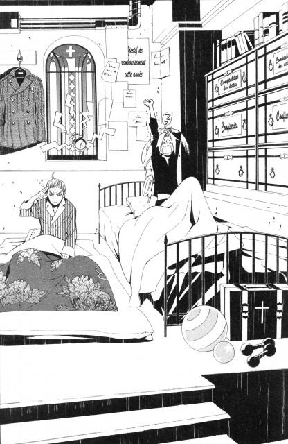 Katsura Hoshino, D Gray-Man, Timcanpy, Howard Link, Allen Walker
