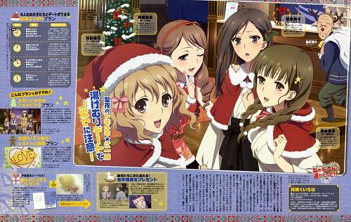 P.A. Works, Hanasaku Iroha, Ohana Matsumae, Yuina Wakura, Nako Oshimizu