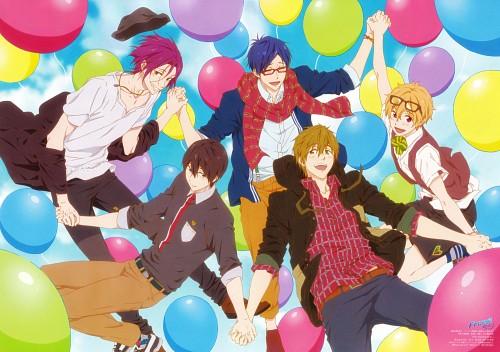 Yuuko Myouken, Kyoto Animation, Free!, Rei Ryuugazaki, Nagisa Hazuki