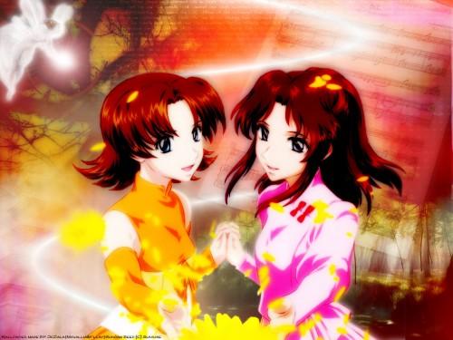 Sunrise (Studio), Mobile Suit Gundam SEED, Miriallia Haw, Fllay Allster Wallpaper