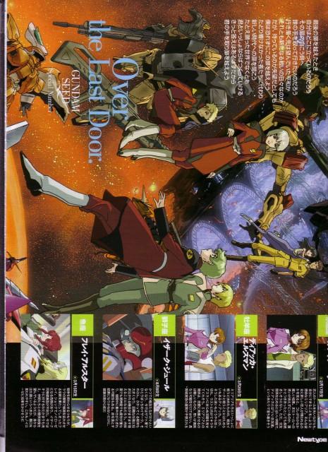 Sunrise (Studio), Mobile Suit Gundam SEED, Aisha (Gundam SEED), Miguel Aiman, Dearka Elthman