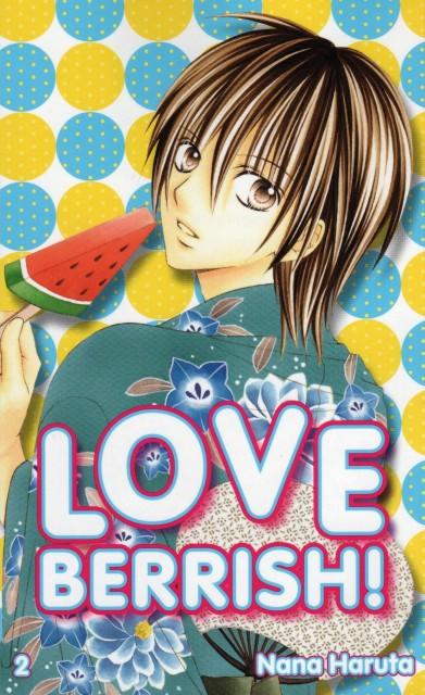 Nana Haruta, Love Berrish!, Azusa Chiba, Manga Cover