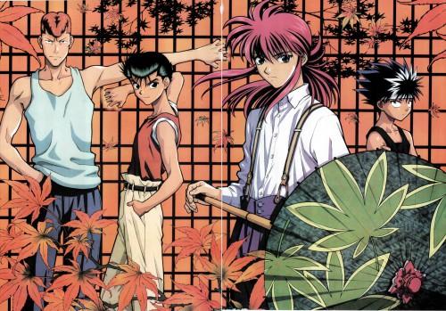 Studio Pierrot, Yuu Yuu Hakusho, Yusuke Urameshi, Kurama, Kazuma Kuwabara