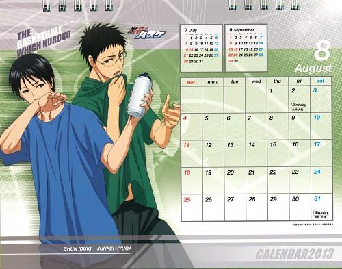 Tadatoshi Fujimaki, Production I.G, Kuroko no Basket, Kuroko no Basket 2013 Anime Calendar, Junpei Hyuuga