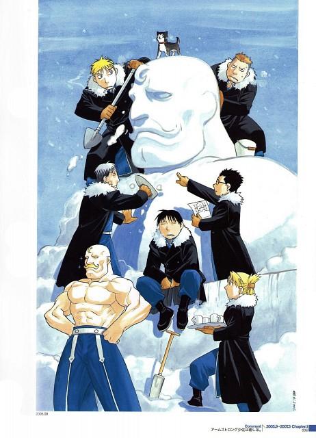 Hiromu Arakawa, Fullmetal Alchemist, Black Hayate, Heymans Breda, Jean Havoc