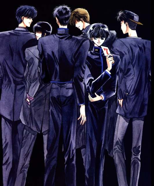 Kamui Shirou And Subaru Sumeragi Tokyo Revelations: X (Kamui Shirou, Fuuma Monou, Sorata Arisugawa, Subaru