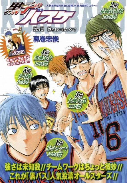 Tadatoshi Fujimaki, Kuroko no Basket, Tetsuya Kuroko, Shun Izuki, Taiga Kagami