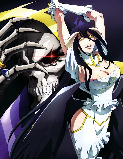 So-bin, Madhouse, Overlord (Series), Albedo (Overlord), Ainz Ooal Gown