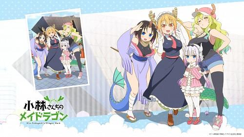 Kyoto Animation, Kobayashi-san Chi no Maid Dragon, Tooru (Kobayashi-san), Kanna Kamui (Kobayashi-san), Elma (Kobayashi-san)