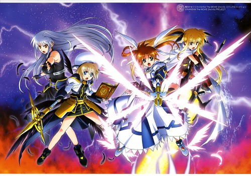 Seven Arcs, Mahou Shoujo Lyrical Nanoha, MSLN The Movie 2nd A's Visual Collection Second, Hayate Yagami, Reinforce
