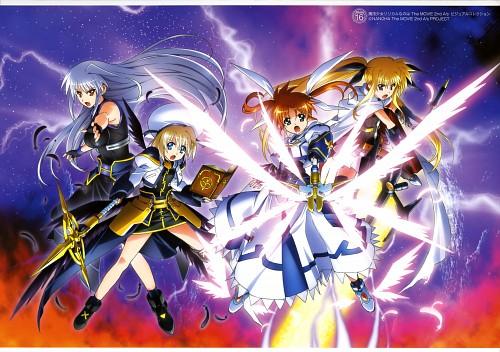 Seven Arcs, Mahou Shoujo Lyrical Nanoha, MSLN The Movie 2nd A's Visual Collection Second, Fate Testarossa, Nanoha Takamachi