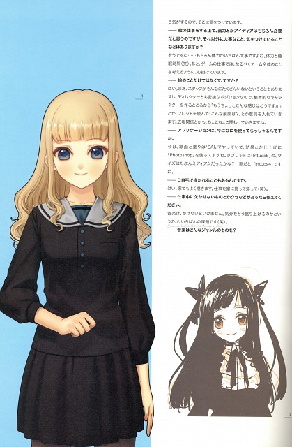 Mai Hanamura, Translucent - Hanamura Mai Artbook