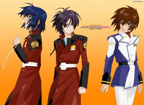Sunrise (Studio), Mobile Suit Gundam SEED Destiny, Shinn Asuka, Kira Yamato, Athrun Zala