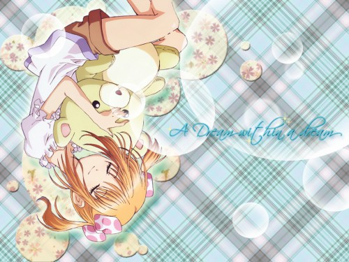 Peach-Pit, Satelight, Shugo Chara, Yaya Yuiki Wallpaper