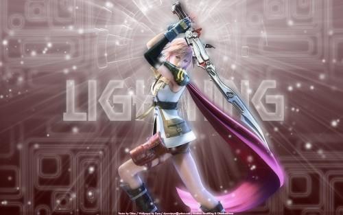 Square Enix, Final Fantasy XIII, Lightning (FF XIII) Wallpaper