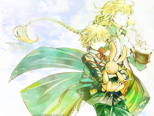 Jun Mochizuki, Xebec, Pandora Hearts, Oz Vessalius, Jack Vessalius Wallpaper