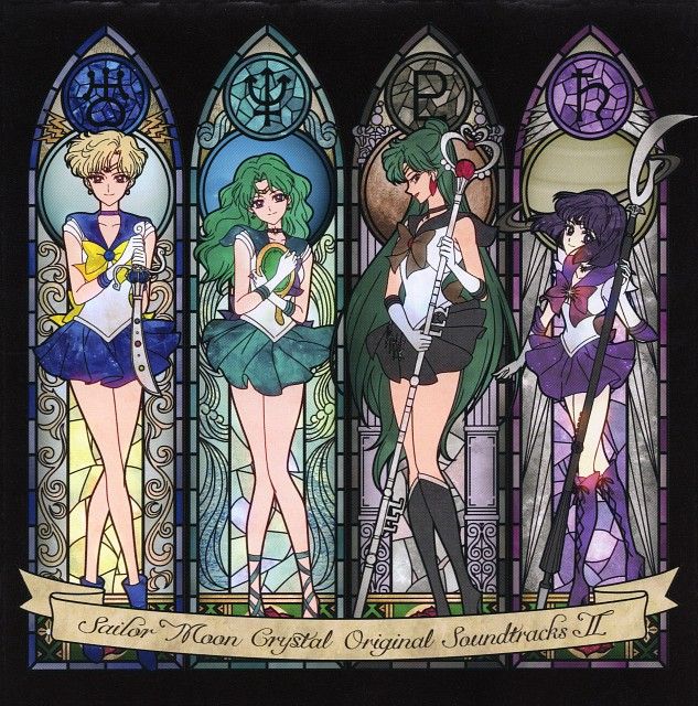 Toei Animation, Bishoujo Senshi Sailor Moon, Sailor Neptune, Sailor Uranus, Sailor Saturn