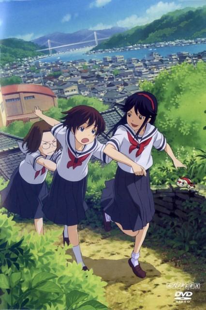 Brains Base, Kamichu, Mitsue Shijo, Matsuri Saegusa, Yurie Hitotsubashi