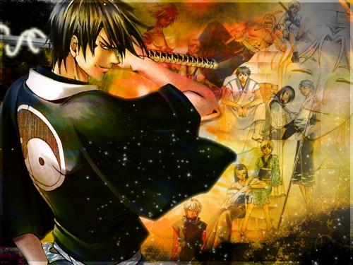 Samurai Deeper Kyo, Demon Eyes Kyo Wallpaper