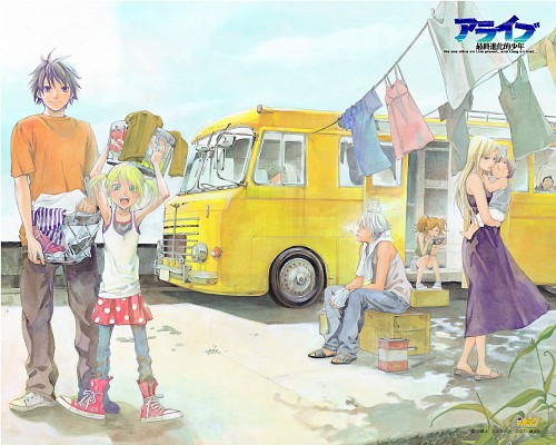 Toka Adachi, Alive: The Final Evolution, Aoi Tezuka, Jun Tezuka, Rei Tezuka