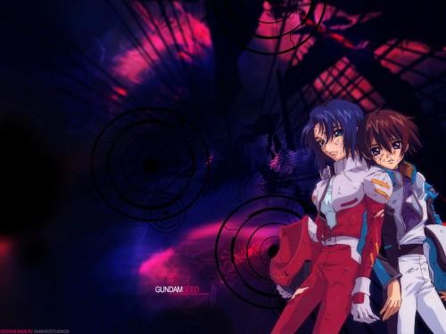 Sunrise (Studio), Mobile Suit Gundam SEED, Kira Yamato, Athrun Zala Wallpaper